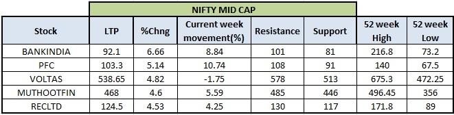 Nifty Mid Cap Stocks